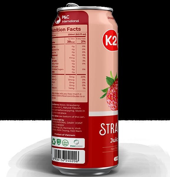 Strawberry Juice Drink