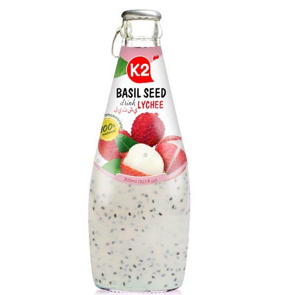 Basil SEED DRINK LYCHEE