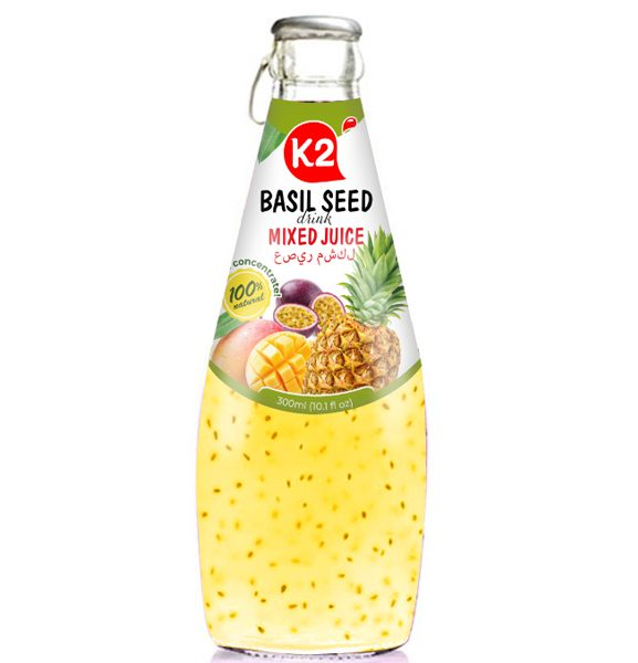 Basil Seed Mixed Juice
