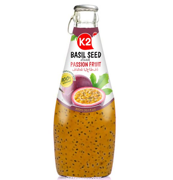 Basil Seed Passion Fruit